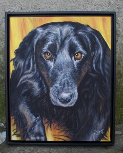 Molly - Finished and Framed