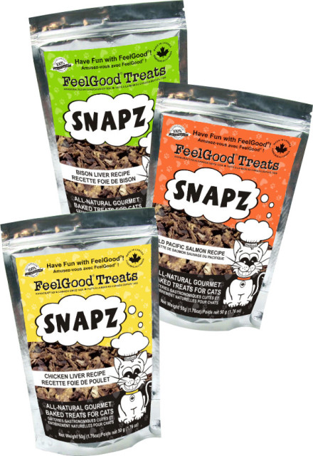 Feelgood cat treats - Cat Liver Snapz
