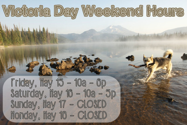 Barks and Recreation in Trail BC Victoria Day Weekend Hours