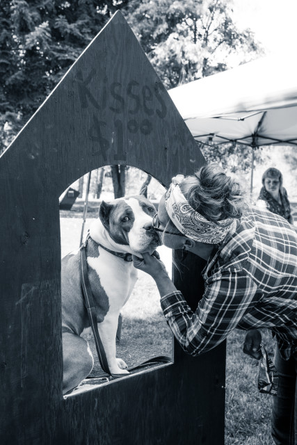 paws for a cause gyro park trail bc kissing booth