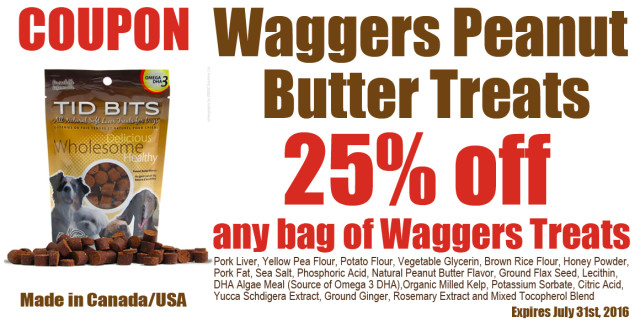 Barks-and-rec-Waggers-Peanut-Butter-Dog-25%-off-coupon
