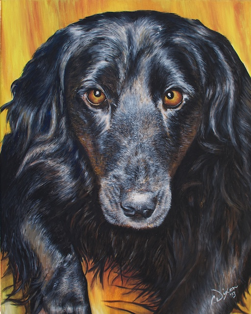 Molly - Finished Painting
