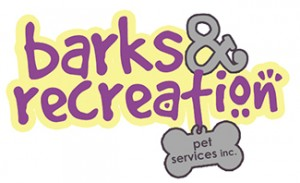 Barks and Recreation Logo 2013