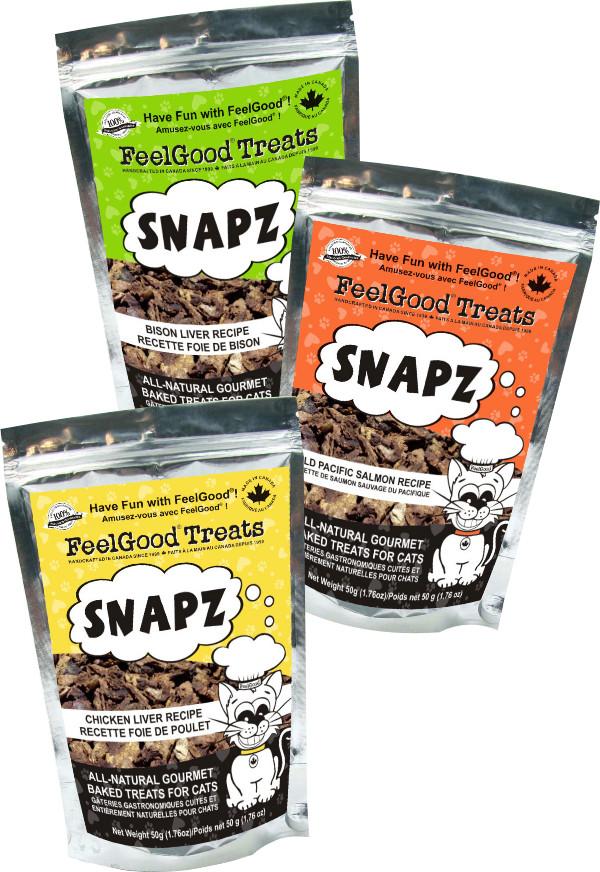 Feelgood cat treats - Cat Liver Snapz