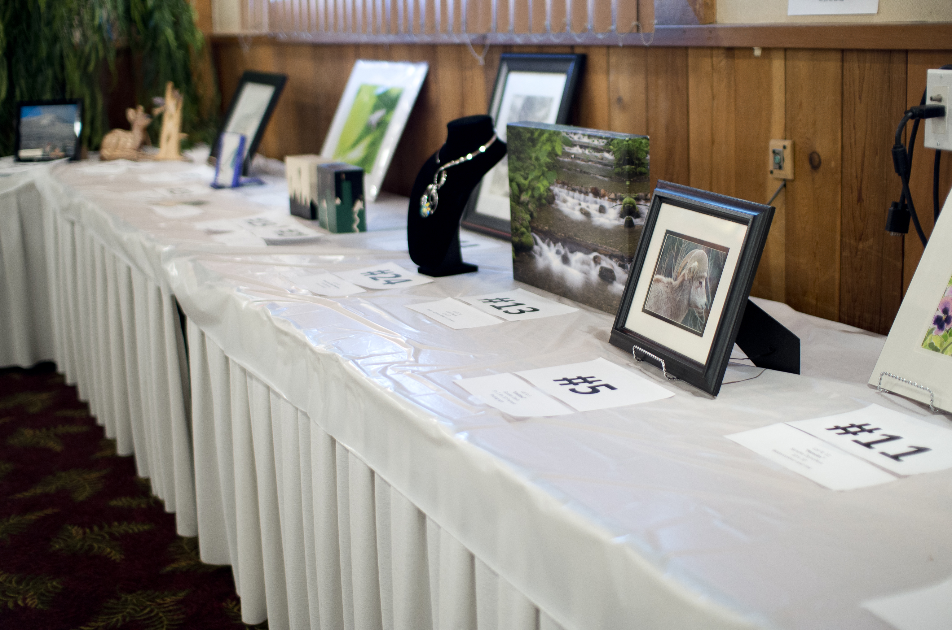 Some of the great art available at the 2014 event.