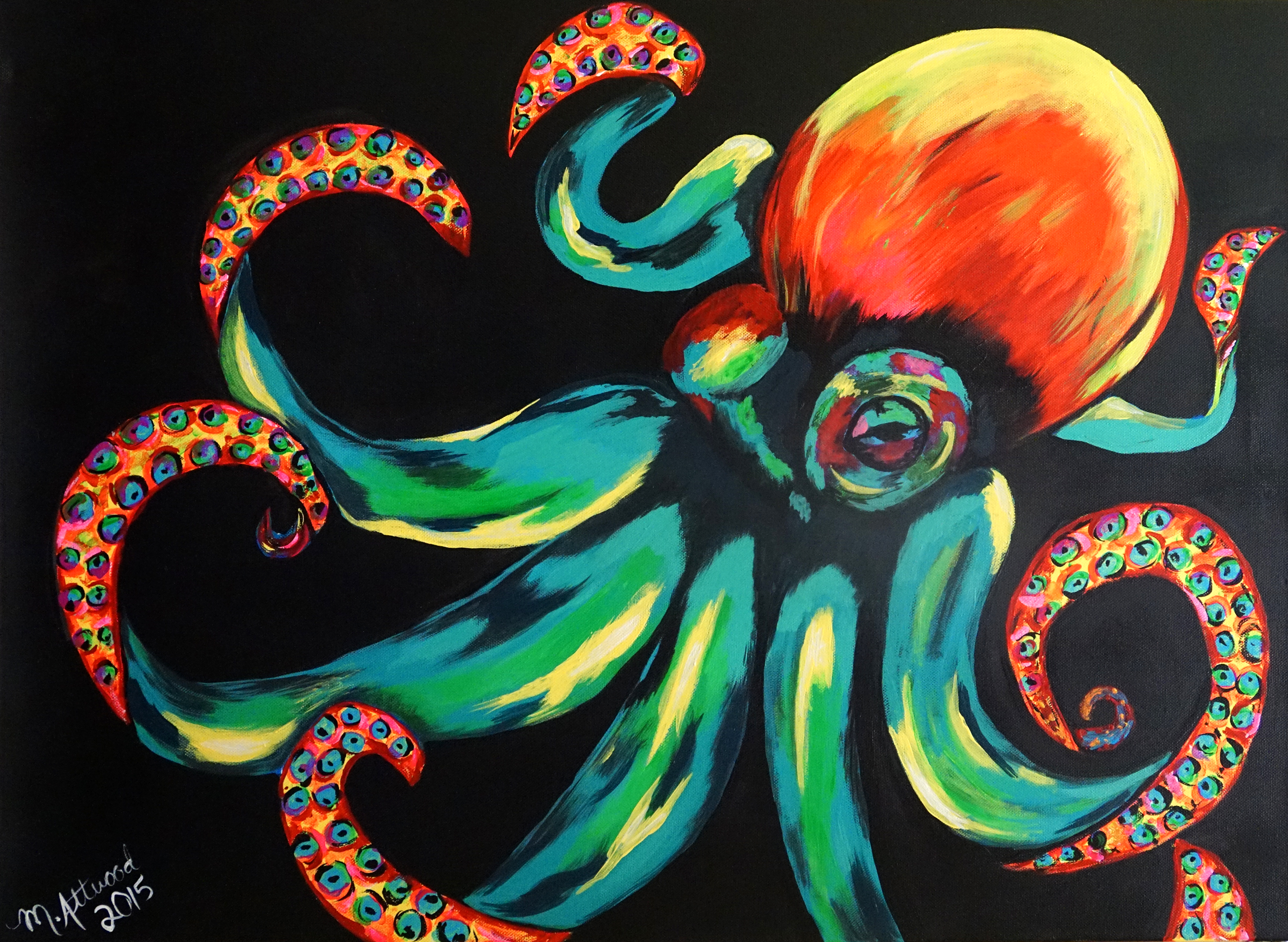 Art Bark 2015 - Octopus by Michelle Attwood