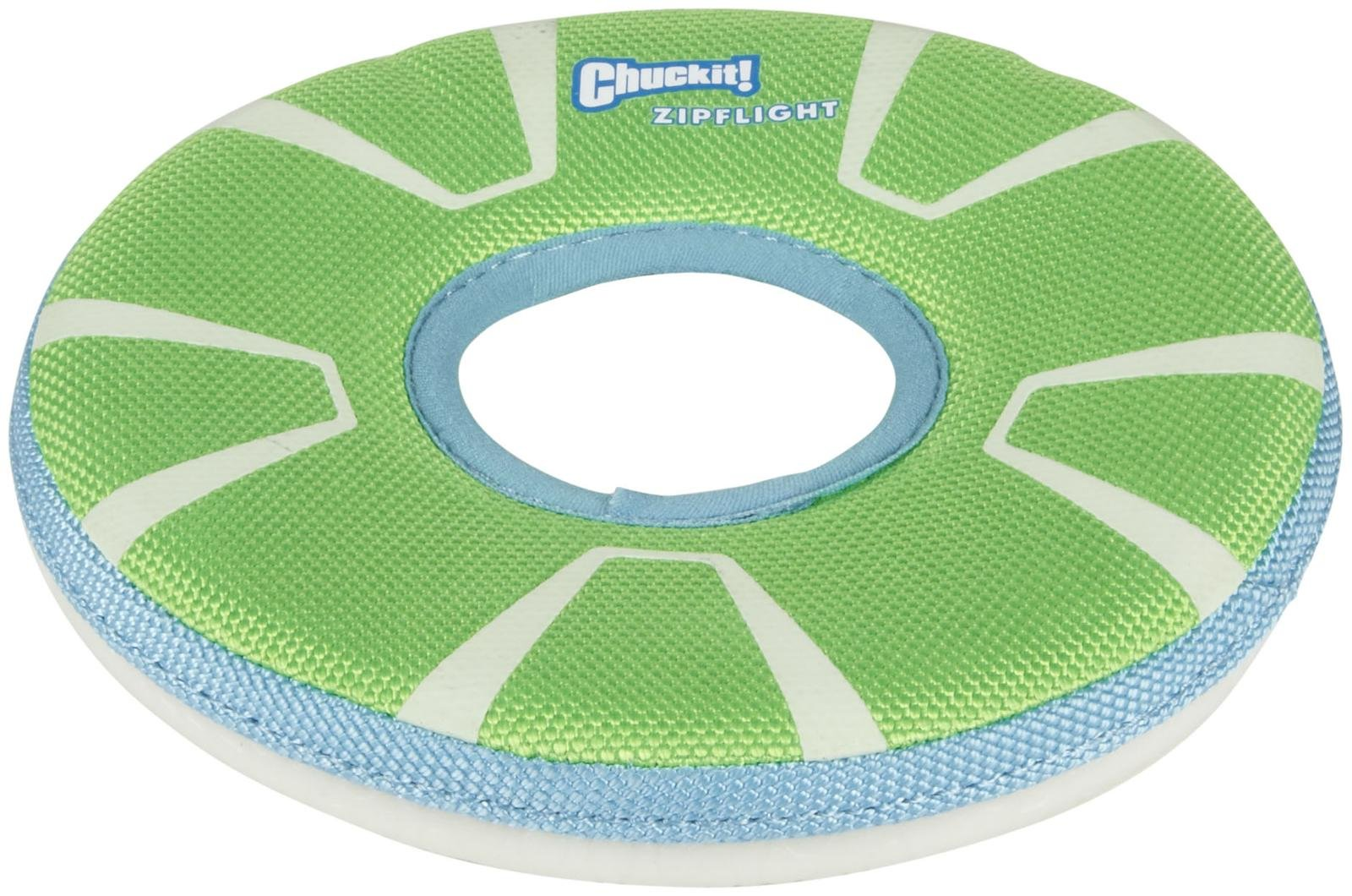 Barks and Recreation in Trail, BC Chuckit Max Glow Zipflight Flying Disc
