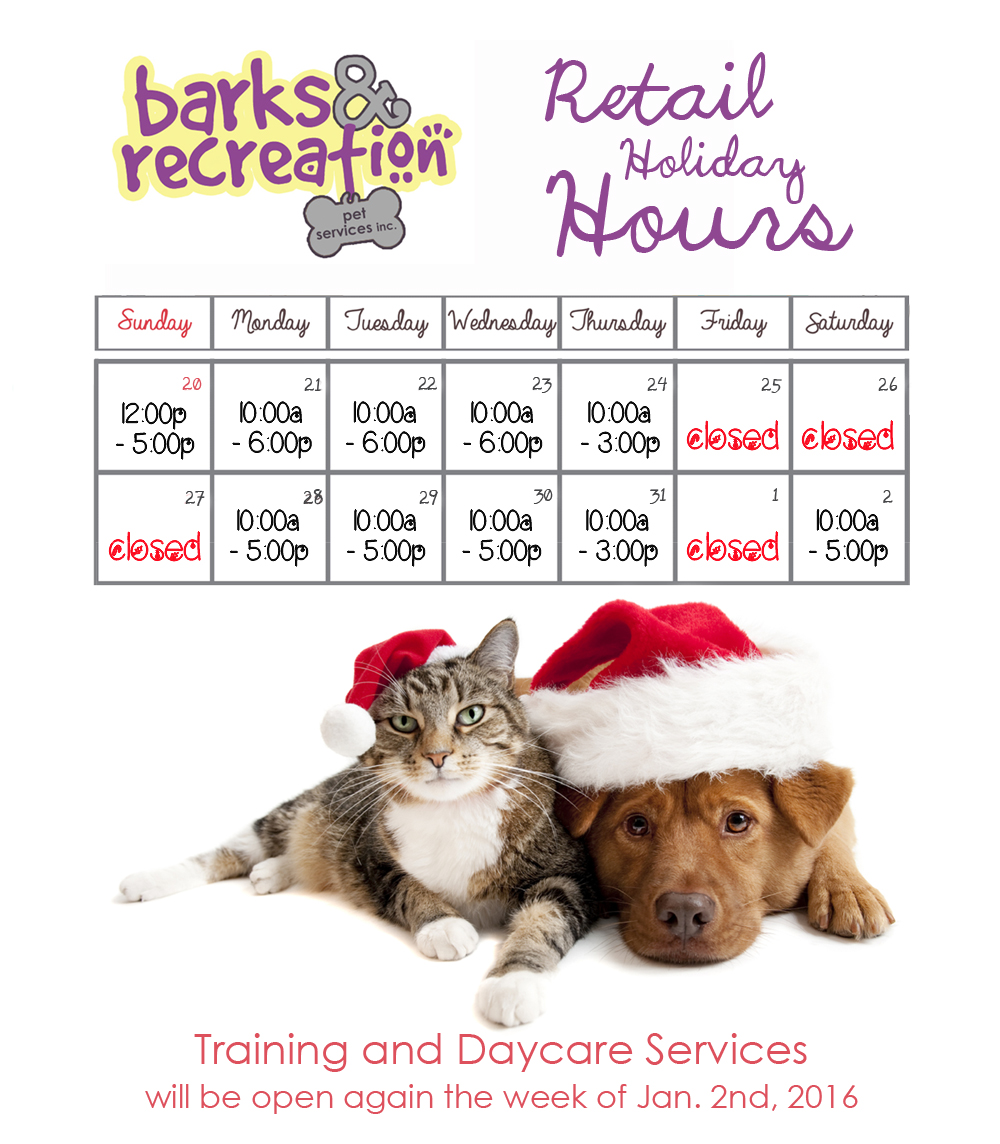 2016-Barks-and-Recreation-Christmas-Holiday-Hours
