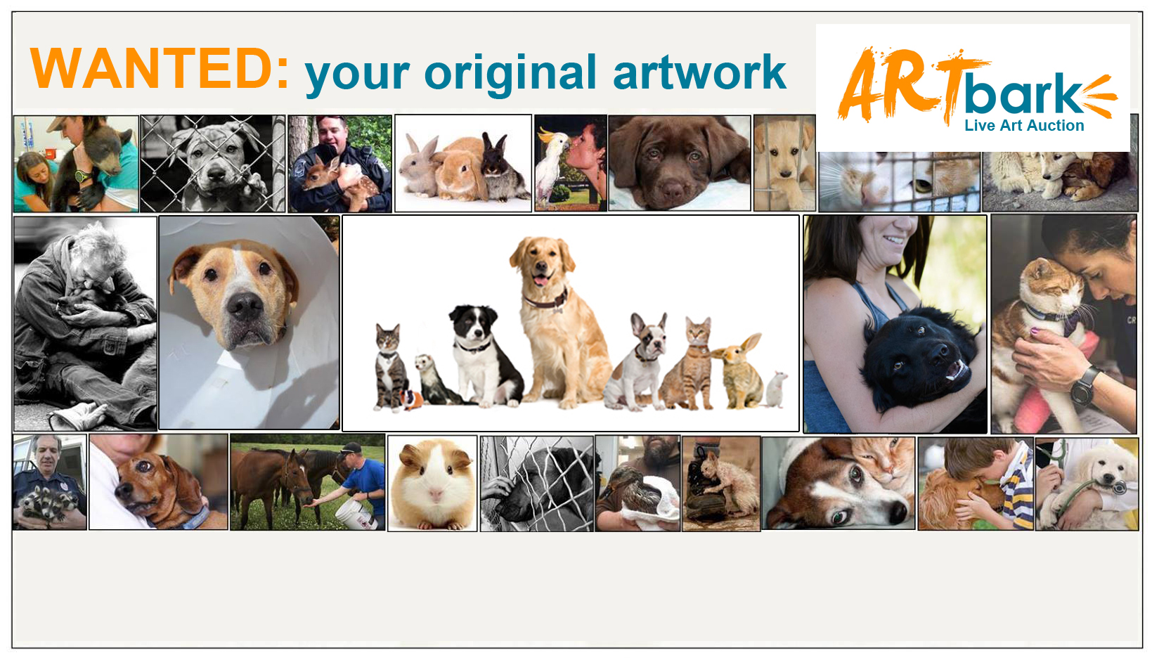 Barks and Recreation Art Bark Call Out BCSPCA