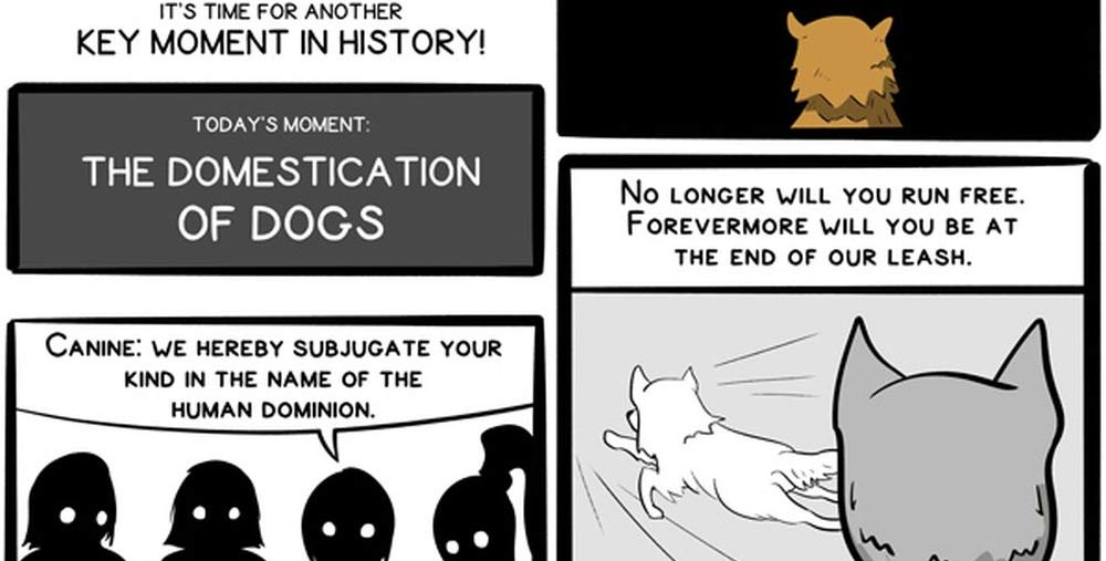 Buttersafe Comic The Domestication of Dogs